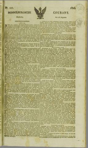 Middelburgsche Courant 1825-08-25