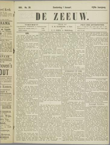 De Zeeuw. Christelijk-historisch nieuwsblad voor Zeeland 1891