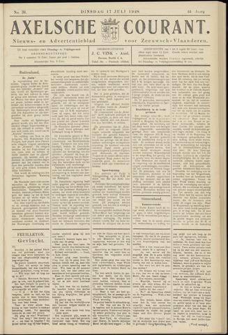 Axelsche Courant 1928-07-17