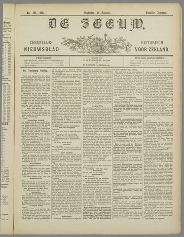 De Zeeuw. Christelijk-historisch nieuwsblad voor Zeeland 1898-08-11