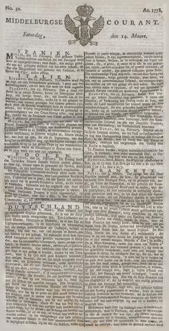 Middelburgsche Courant 1778-03-14