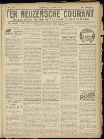 Ter Neuzensche Courant. Algemeen Nieuws- en Advertentieblad voor Zeeuwsch-Vlaanderen / Neuzensche Courant ... (idem) / (Algemeen) nieuws en advertentieblad voor Zeeuwsch-Vlaanderen 1929-05-15