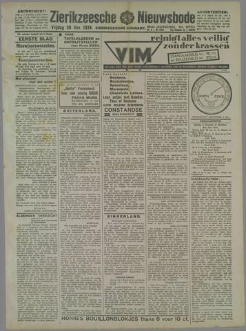 Zierikzeesche Nieuwsbode 1934-11-30