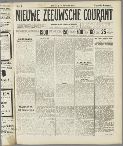 Nieuwe Zeeuwsche Courant 1913-01-14