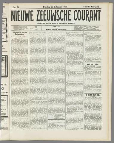 Nieuwe Zeeuwsche Courant 1906-02-27