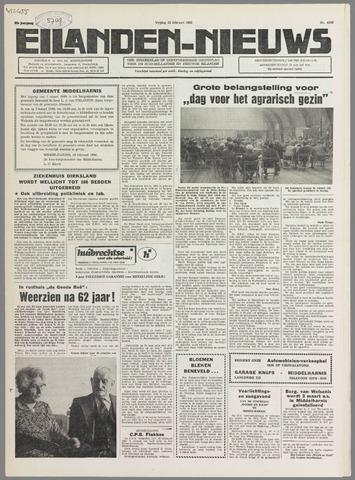 Eilanden-nieuws. Christelijk streekblad op gereformeerde grondslag 1980-02-22