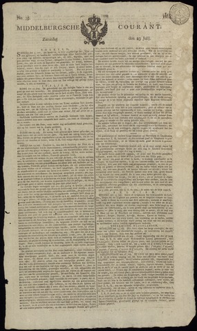 Middelburgsche Courant 1814-07-23