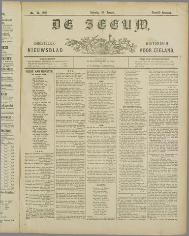 De Zeeuw. Christelijk-historisch nieuwsblad voor Zeeland 1898-01-29