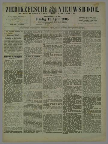 Zierikzeesche Nieuwsbode 1905-04-11