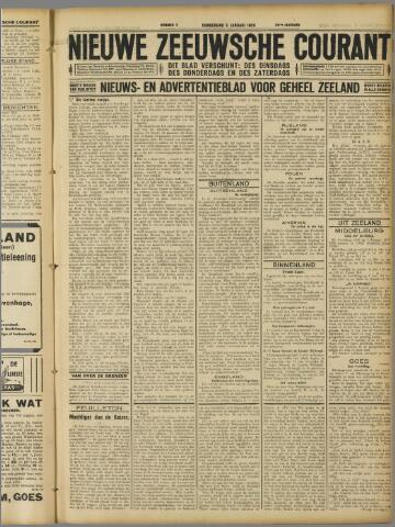 Nieuwe Zeeuwsche Courant 1928-01-05