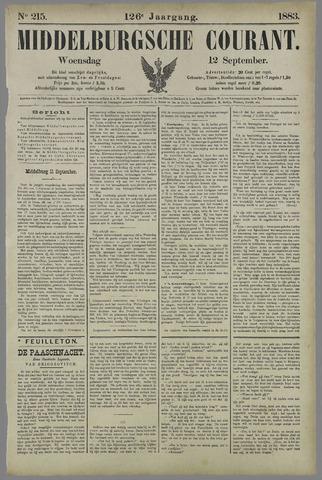 Middelburgsche Courant 1883-09-12