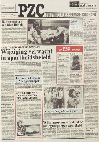 Provinciale Zeeuwse Courant 1985-08-10