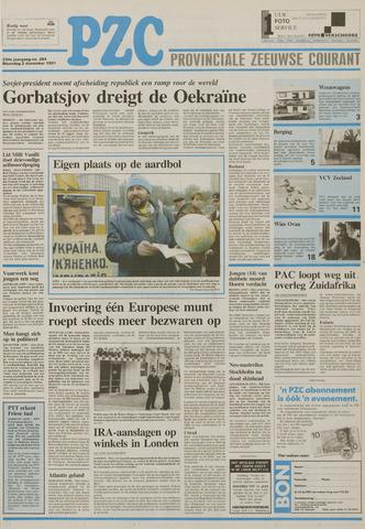 Provinciale Zeeuwse Courant 1991-12-02