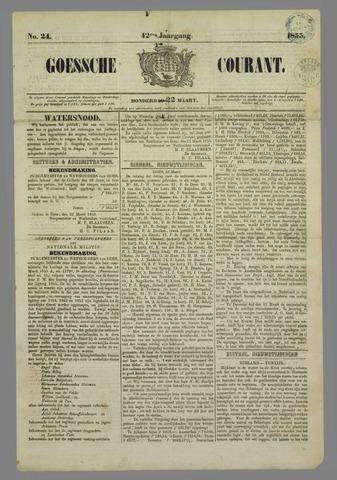 Goessche Courant 1855-03-22