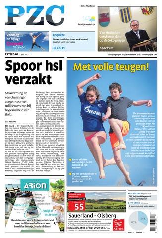 Provinciale Zeeuwse Courant 2015-04-11