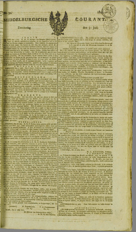 Middelburgsche Courant 1817-07-31
