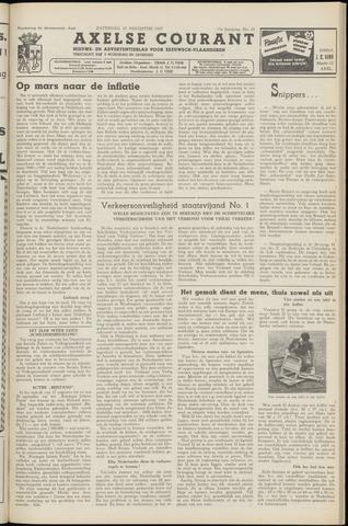Axelsche Courant 1957-08-10