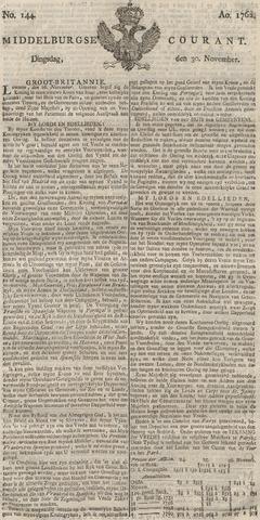 Middelburgsche Courant 1762-11-30
