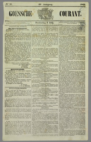 Goessche Courant 1862-07-03