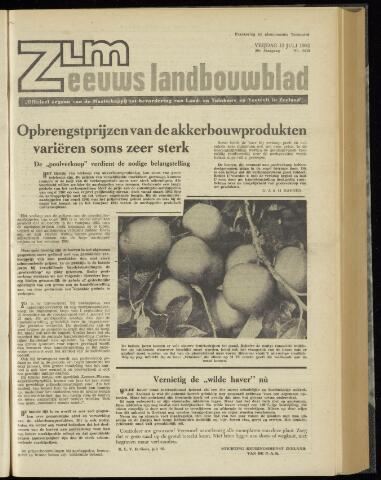 Zeeuwsch landbouwblad ... ZLM land- en tuinbouwblad 1962-07-13