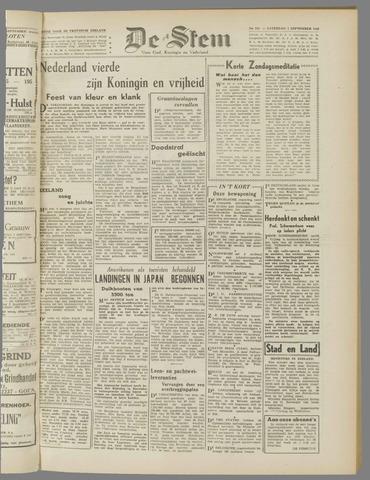 de Stem 1945-09-01