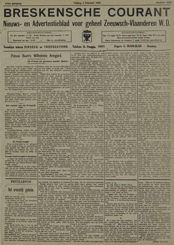 Breskensche Courant 1938-02-04