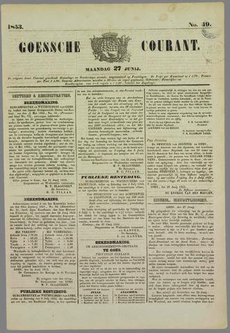 Goessche Courant 1853-06-27