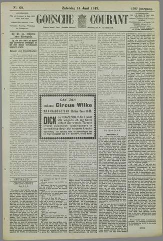 Goessche Courant 1919-06-14