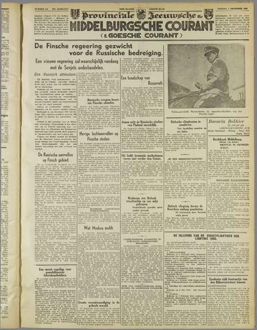 Middelburgsche Courant 1939-12-01
