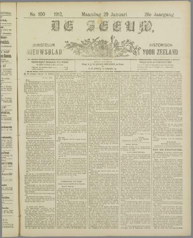 De Zeeuw. Christelijk-historisch nieuwsblad voor Zeeland 1912-01-29