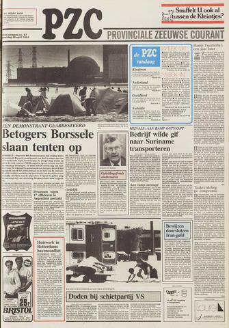 Provinciale Zeeuwse Courant 1987-04-25