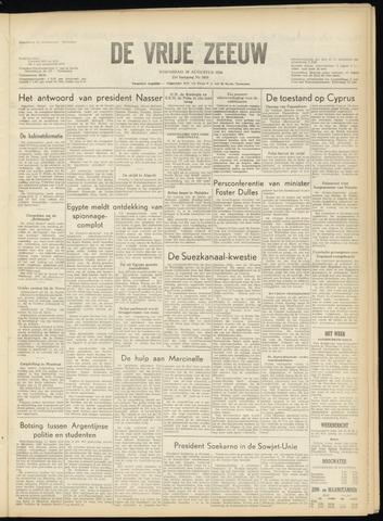 de Vrije Zeeuw 1956-08-29