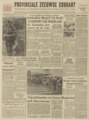 Provinciale Zeeuwse Courant 1962-06-20