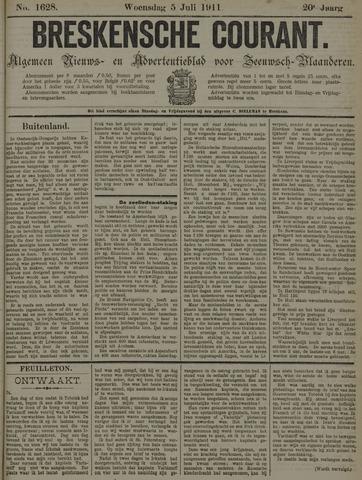 Breskensche Courant 1911-07-05