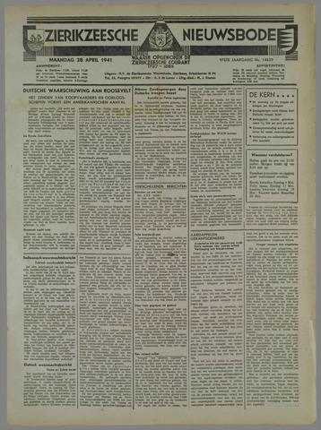 Zierikzeesche Nieuwsbode 1941-04-28