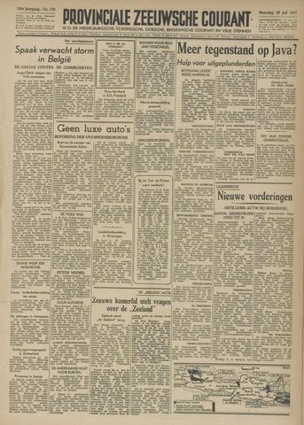 Provinciale Zeeuwse Courant 1947-07-28