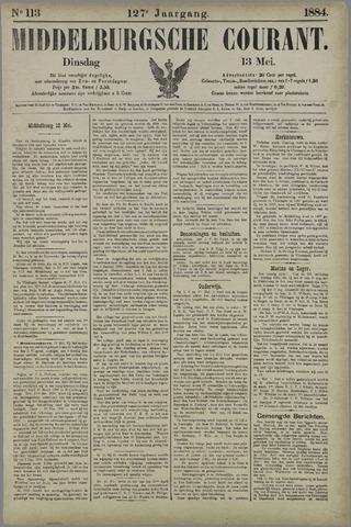 Middelburgsche Courant 1884-05-13