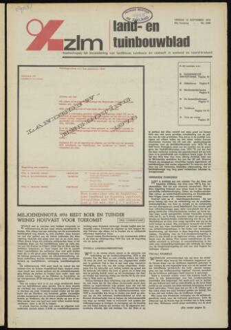 Zeeuwsch landbouwblad ... ZLM land- en tuinbouwblad 1975-09-19