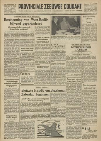 Provinciale Zeeuwse Courant 1952-06-30