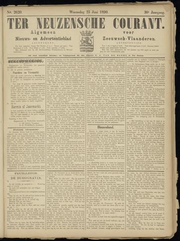 Ter Neuzensche Courant. Algemeen Nieuws- en Advertentieblad voor Zeeuwsch-Vlaanderen / Neuzensche Courant ... (idem) / (Algemeen) nieuws en advertentieblad voor Zeeuwsch-Vlaanderen 1890-06-25
