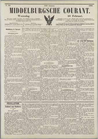 Middelburgsche Courant 1901-02-20