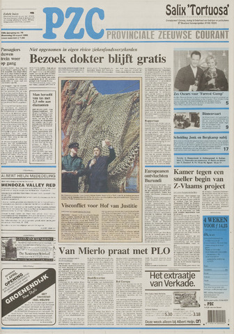 Provinciale Zeeuwse Courant 1995-03-29