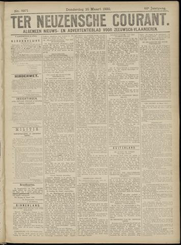 Ter Neuzensche Courant. Algemeen Nieuws- en Advertentieblad voor Zeeuwsch-Vlaanderen / Neuzensche Courant ... (idem) / (Algemeen) nieuws en advertentieblad voor Zeeuwsch-Vlaanderen 1920-03-25
