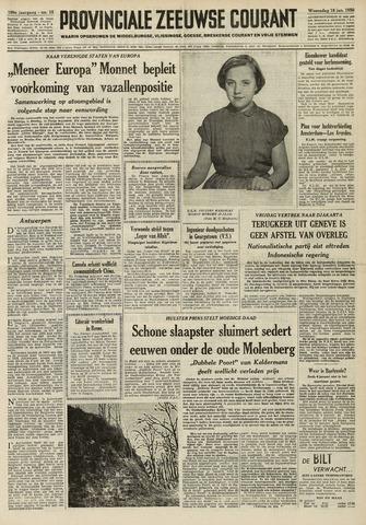 Provinciale Zeeuwse Courant 1956-01-18