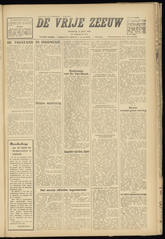 de Vrije Zeeuw 1947-07-22