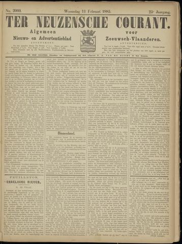 Ter Neuzensche Courant. Algemeen Nieuws- en Advertentieblad voor Zeeuwsch-Vlaanderen / Neuzensche Courant ... (idem) / (Algemeen) nieuws en advertentieblad voor Zeeuwsch-Vlaanderen 1885-02-11
