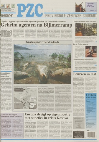 Provinciale Zeeuwse Courant 1998-04-28
