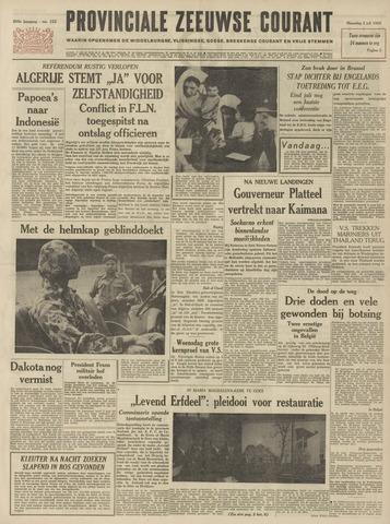 Provinciale Zeeuwse Courant 1962-07-02