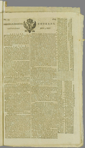 Middelburgsche Courant 1805-05-04