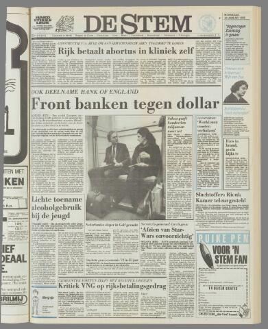 de Stem 1985-01-23